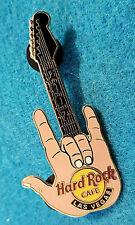 New listing Las Vegas Hang Loose Hrc Hand Signal Sign Fingers Guitar Hard Rock Cafe Pin Le
