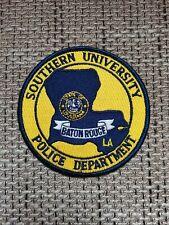 VINTAGE PATCH POLICE BATON ROUGE SOUTHERN UNIVERSITY LOUISIANA LA