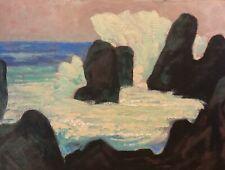 Contemporary Modern Marine Seascape Ocean Modern Symbolist Wave Art Oil Painting