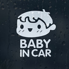 Baby In Car Decal Vinyl Sticker For Panel Or Window Or Bumper