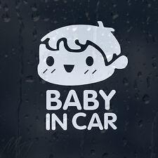 Bebé en coche decal Vinilo Adhesivo Para Panel O Ventana o parachoques