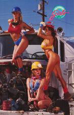 POSTER :CALIFORNIA GIRLS - TRUCKIN' - SEXY FEMALES -FREE SHIPPING !  #3294 RC6 R