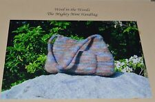 Wool in the Woods Knitting Pattern Felted Mighty Mini Bag