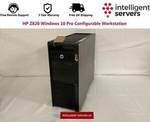 HP Z820 V1 / V2 Windows 10 Pro Configurable Workstation