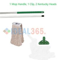 Green Kentucky Mop Set Complete with Extra Mop Head