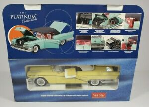 SUN STAR THE PLATINUM COLLECTION 1958 BUICK LIMITED YELLOW #4814