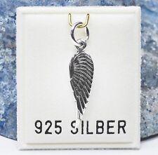 NEU 925 Silber KETTENANHÄNGER mit einem FLÜGEL Engel ANHÄNGER für HALSKETTEN