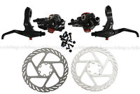 Avid Kit BB7 Disc Brake Bike Front & Rear Calipers With Rotors + FR7 Levers