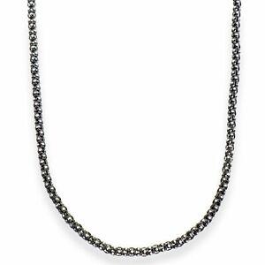 Aleksander Sternen La Barca Damen Halskette Popkorn Sterling-Silber 925 bicolor