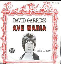 7inch DAVID GARRICK ave maria HOLLAND EX +PS
