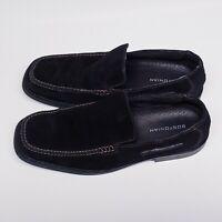Bostonian 10 1/2m Men's Black Loafer #20781 Matte Finish Italian Leather