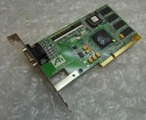 Genuine 8MB ATI Rage Pro 109-49800-11 AGP VGA Vintage Graphics Video Card