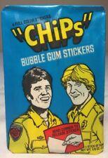 Vintage 1979 Donruss CHiPs Wax Pack from Original Box Eric Estrada