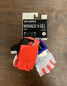 Giro Monaco II Gel Cycling Gloves Size Small New