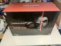tekken 7 edition collector collector's edition statue ps4 playstation ps 4 neuf