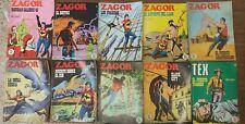 Lote comic ++ ZAGOR ++ Novela gráfica para adultos de los años 70!! Muy buscada