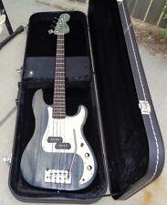 "Sal'tripin Guitar Co USA ""Patchwork Denim Gloss"" wammy electric boutique bass"