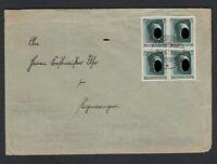 Deutsches Reich Mi-Nr. 646 Herzstück aus Block 7 auf Beleg