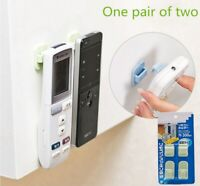 TV Air Conditioner Remote Control Holder Hanger Practical Storage Wall Mount