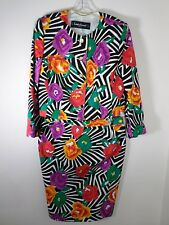 Louis Feraud Multi-Color Skirt Suit Women's Size 12 Germany