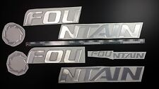 "FOUNTAIN boat Emblem 32"" + FREE FAST delivery DHL express"