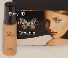 LUMINESS AIR - FLAWLESS & GORGEOUS - IVORY CC+ Airbrush CONCEALER - .55 oz *NEW