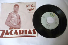 """ZACARIAS """"AFRICA HURE/MARRABENTA"""" disco 45 giri LINEA REC. LR76004 1984 ITALY"""