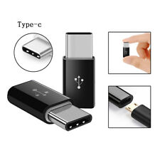 USB 3.1 Type C Male to Micro USB Female Adapter Converter Connector USB-C Black
