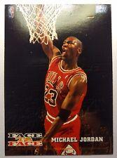 1993 93-94 NBA Hoops Face to Face #10 Harold Miner Michael Jordan, Skybox Insert