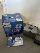 Epson PictureMate PM240 Colour Digital Portable Photo Printer - Good Condition