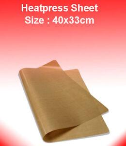 Reusable Teflon PTFE Sheet for T Shirt Heat Press and Sublimation (40 x 33cm)
