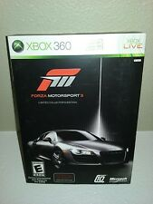 Forza Motorsport 3 - Limited Collector's Edition (Microsoft Xbox 360, 2009)