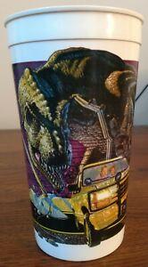 Jurassic Park McDonald's Dinosaur Collector Cup JP1 Tyrannosaurus Rex 1992