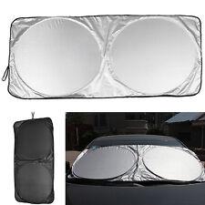 Ideal Folding Jumbo Front Car Window Sun Shade Auto Visor Windshield Block Cover