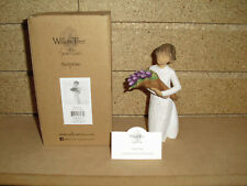 Demdaco Willow Tree Surprise A Bouquet of Wonderful Wishes Nib!