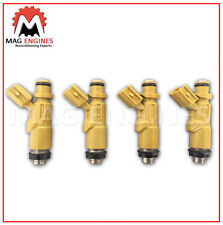 23250-22030 FUEL INJECTOR SET TOYOTA 2ZZ-GE FOR COROLLA CELICA LOTUS 1.8L 99-08