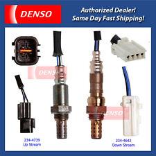 2002-2006 Mitsubishi Lancer 2.0L Denso Oxygen Sensor Set 2PCS 234-4642 234-4739!