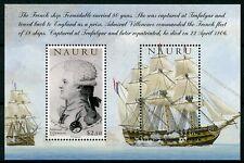 Nauru 2005 MNH Battle of Trafalgar 200th Admiral Villeneuve 2v M/S Ships Stamps