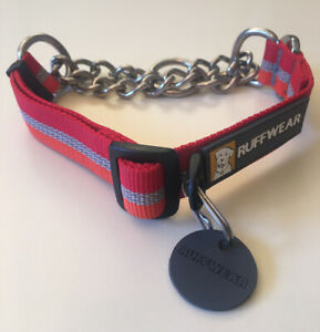 New! Ruffwear Chain Reaction Collar Small 11-14in. Great for Training!