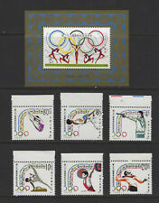 China PRC 1984 J103M Olympic Games Set & Sovenir Sheet MNH