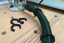 Festool Cavo Clip Estrattore 33/34mm Tubo Clip Filo x8-Nero