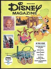 DISNEY MAGAZINE 1976 ZEST GIVE-AWAY GOOFY COMICS LUCILLE BALL BRER RABBIT NICE