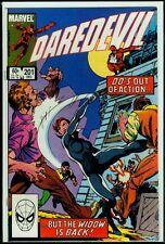 Marvel Comics DAREDEVIL #201 Black Widow VFN/NM 9.0