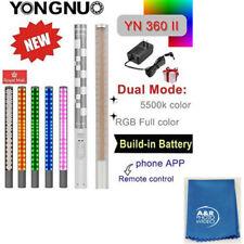 Yongnuo YN360 II 5500K Handheld Bicolor LED Video Light RGB Colorful Stick USA