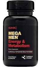 GNC Mega Men Energy and Metabolism Multi Vitamin Dietary Supplement - 90 Caplets