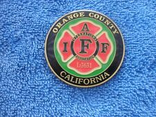 St. Patrick'S Day Parade O. C. California Firefighters Challenge Coin