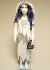 Kids Halloween Zombie Ghost Bride Costume
