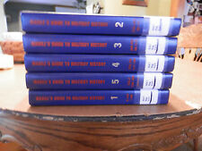 MAGILL'S GUIDE TO MILITARY HISTORY 5 VOLUMES HARDCOVER