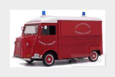 Citroen Type Hy Van Sapeurs Pompiers 1969 Red White  SOLIDO 1:18 SL1850013