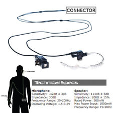 Impact SP3-P2W-AT1 Platinum 2-Wire Headset for Sepura Bottom Mount SRP and SRH
